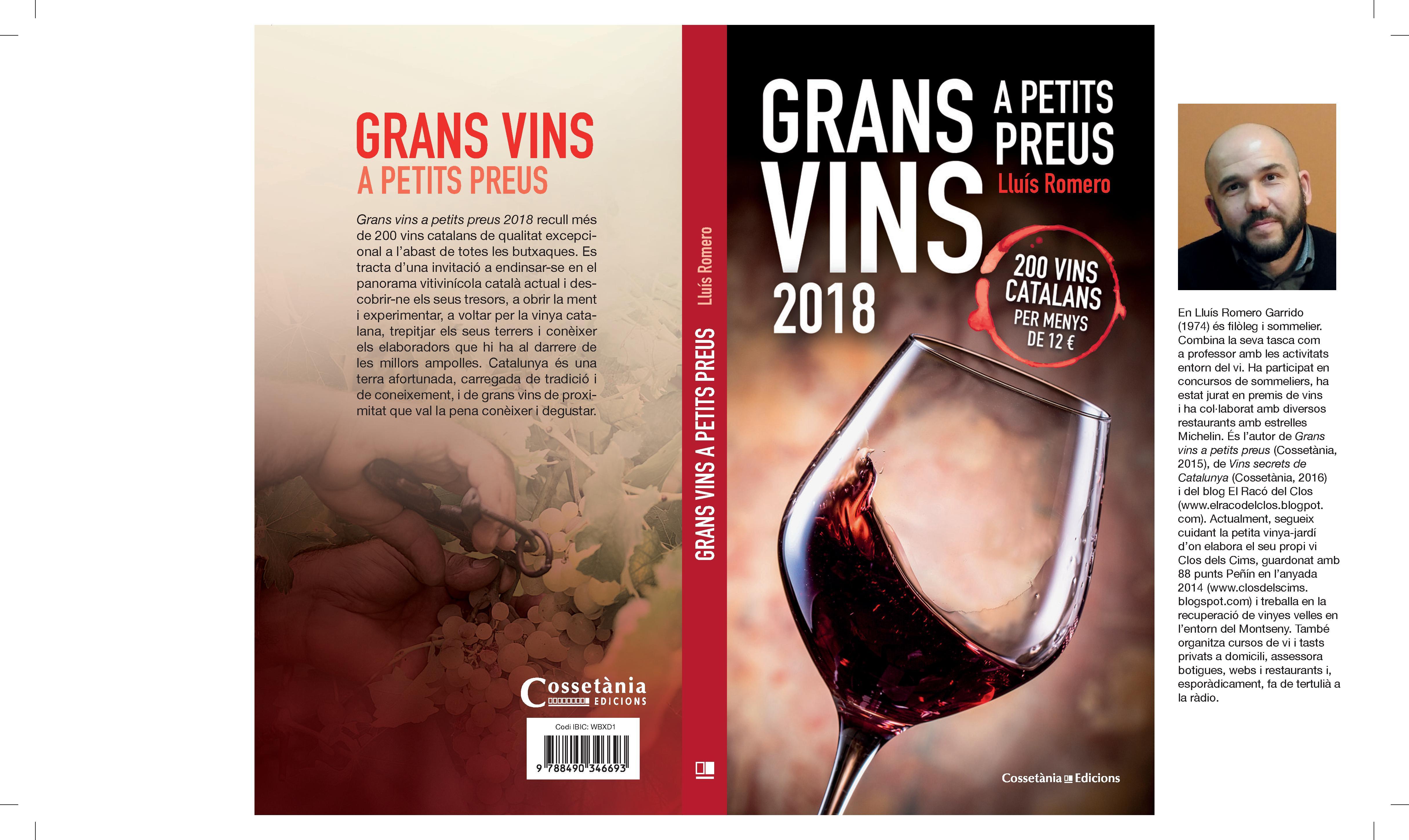 COBERTA GRANS VINS A PETITS PREUS 2018