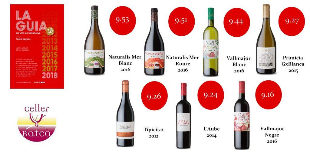 guia vinos cataluña 2018