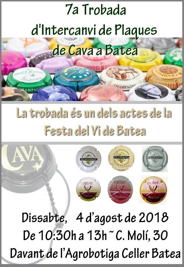 TROBADA DE PLAQUES 2018-2